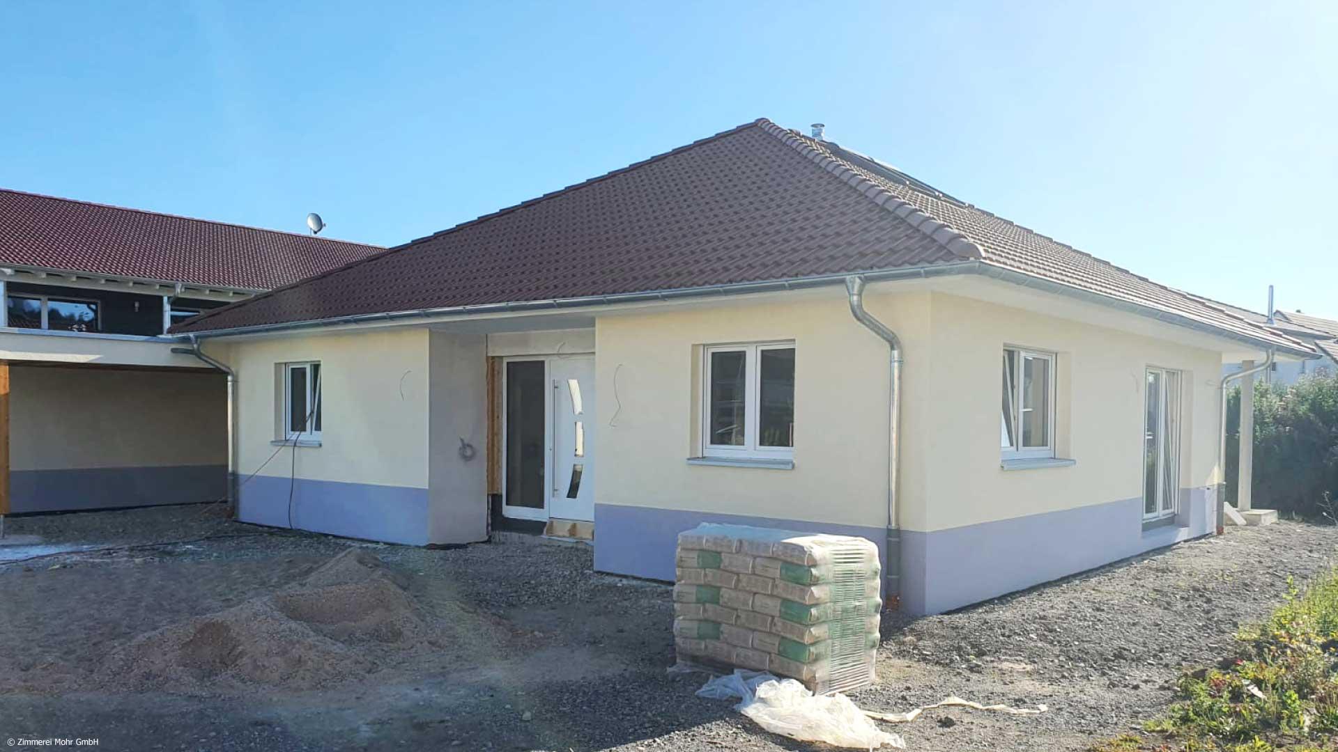 Bungalow SUNNY - Neubau Holzhaus mit Walmdach