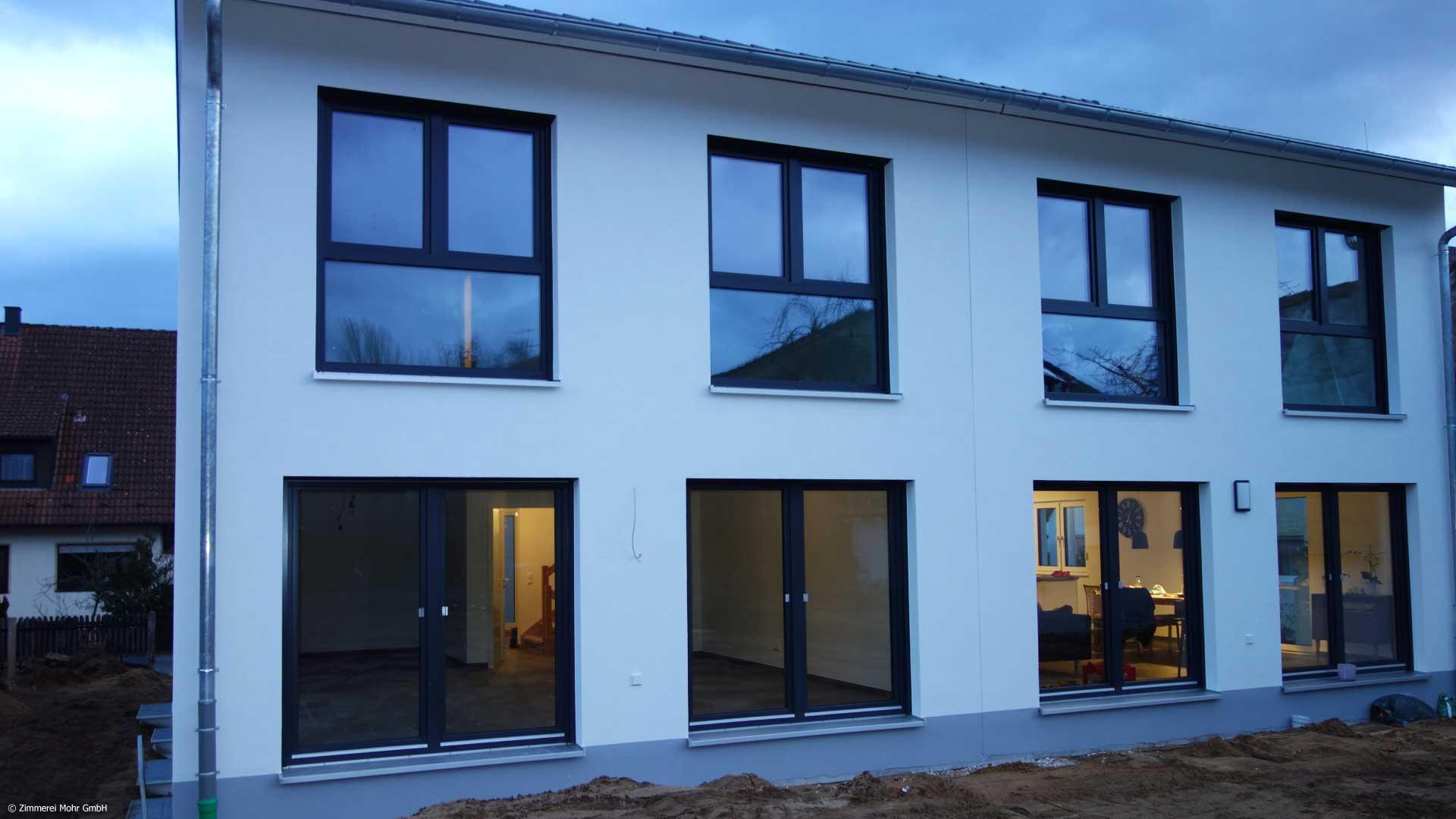 Doppelhaus TWIN - Neubau Holzhaus