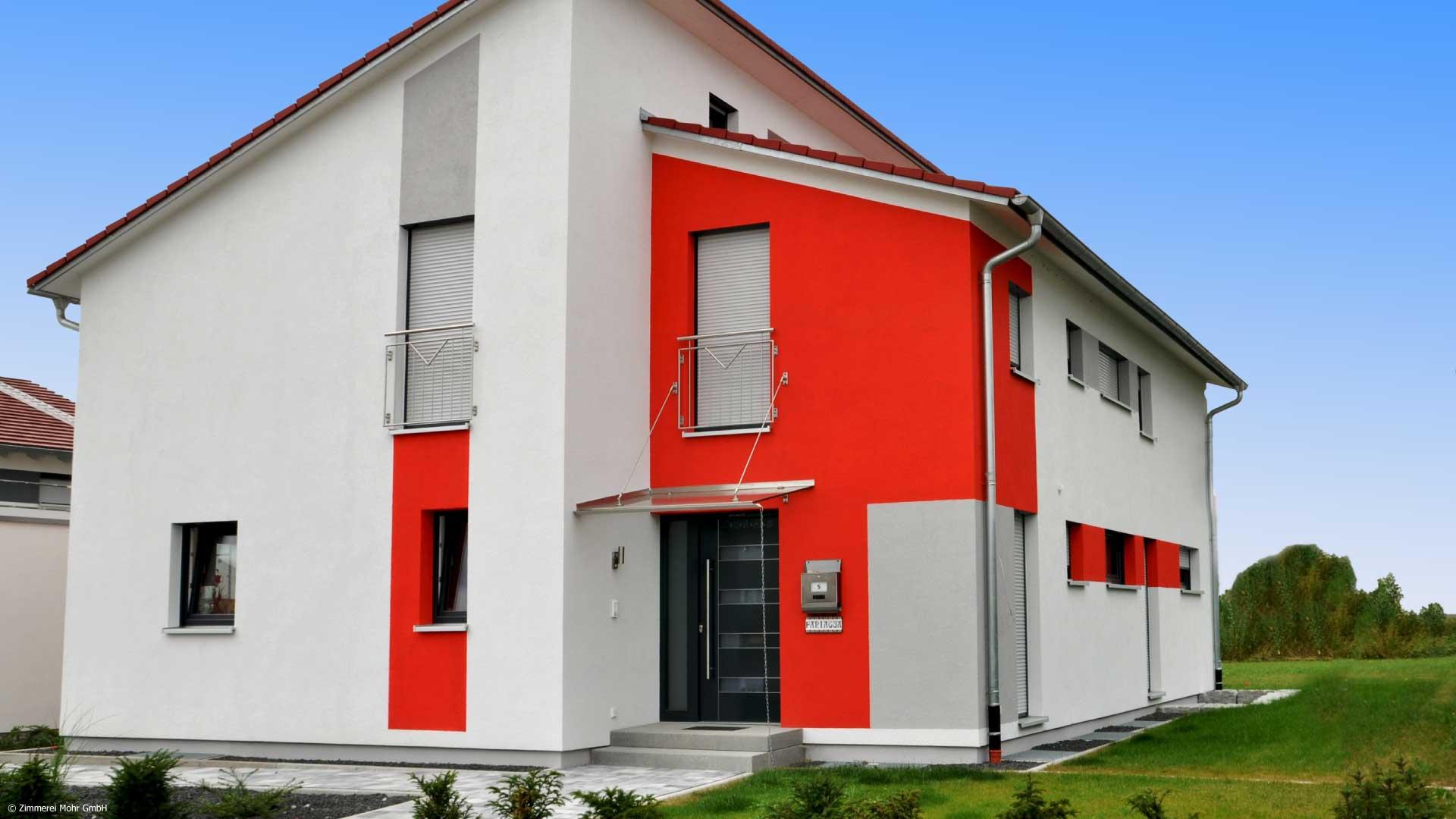 Einfamilienhaus MODERN mit Pultdach